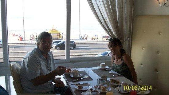 Sol Ipanema Hotel : Cafe da manha