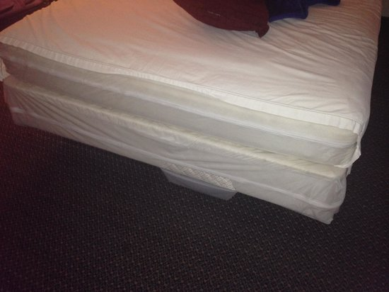Airport Motor Inn: sheet too small for the bed