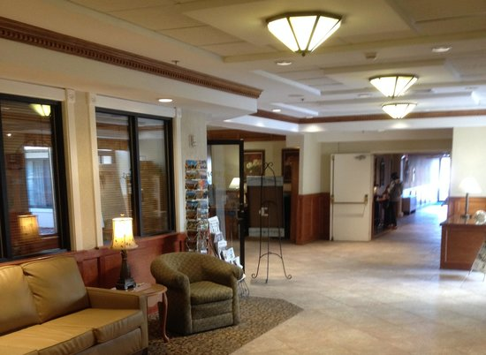 Holiday Inn Burlington : A view of a portion of the lobby