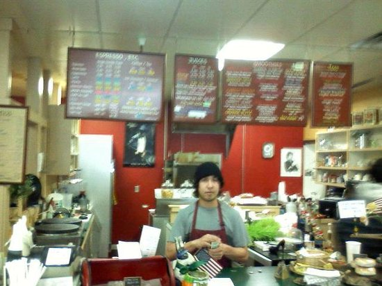 The Java Joint : View of the service counter