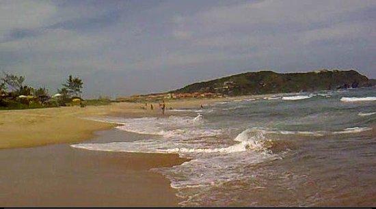 Tucuns Beach : vista desde el lado  derecho, a 70 metros de distancia del parador