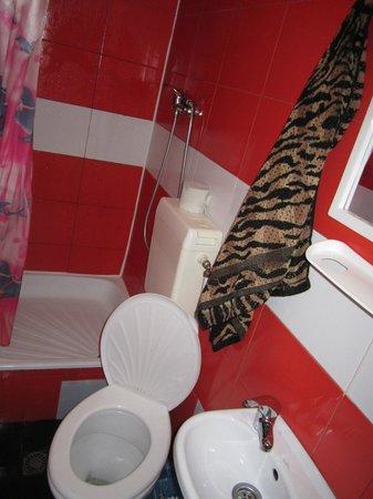 Tokyo-Star: WC do quarto - Local do duche