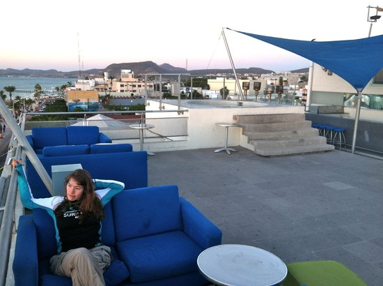 Seven Crown Malecon: The roof top