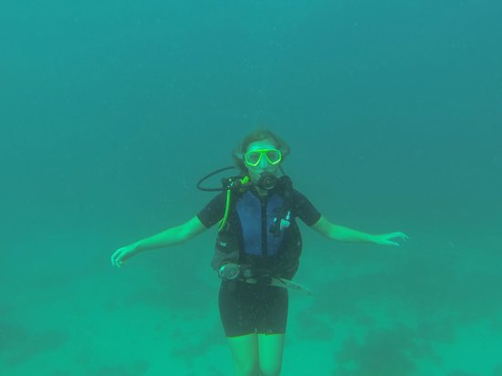 Malmok Reef: My girlfriend!