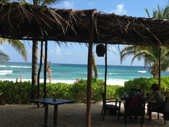The Beach Tulum: View from the restaurant