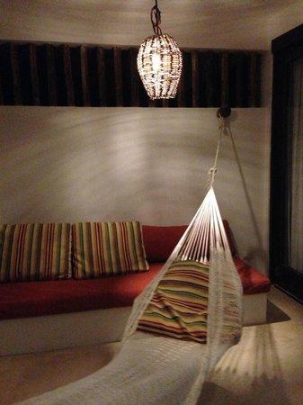 The Beach Tulum: Terrace in upstairs deluxe room