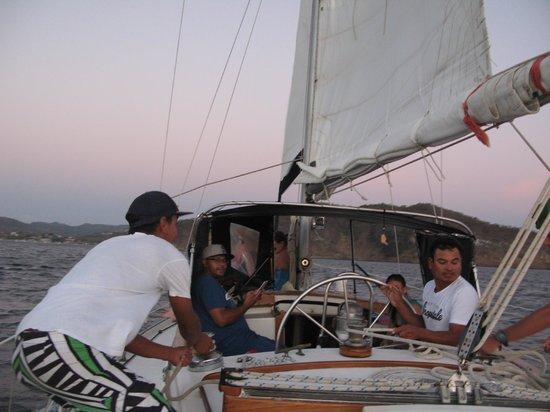 Pelican Eyes Resort & Spa: Sailing trip