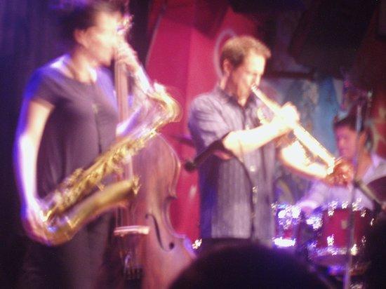 Jazz Zone: Gabriel Alegria (trumpet) and Laura Andrea Leguia (tenor)