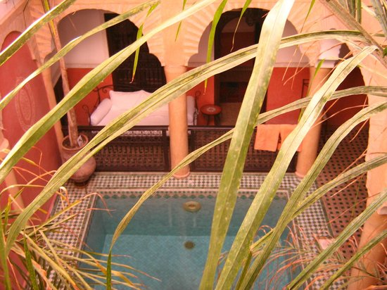 Riad Itrane : Entrée de la chambre