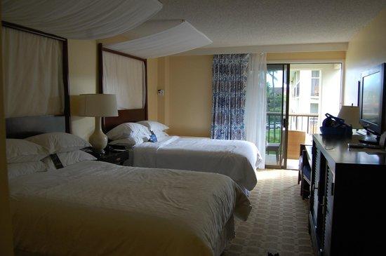 Sheraton Kauai Resort: Garden View Room