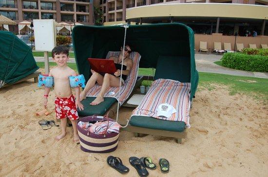 Sheraton Kauai Resort : Bungalow on beach