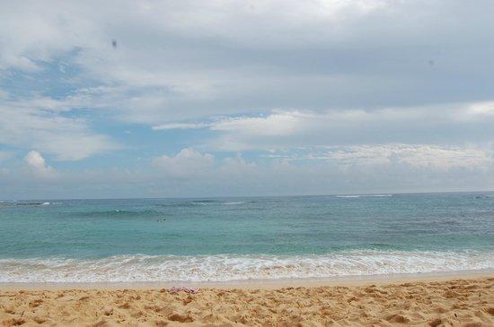 Sheraton Kauai Resort: Ocanview from beach