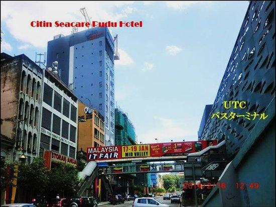 Citin Seacare Pudu Kuala Lumpur: Hotel Location