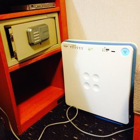 Hotel MyStays Kyoto Shijo : Safe and humidifier