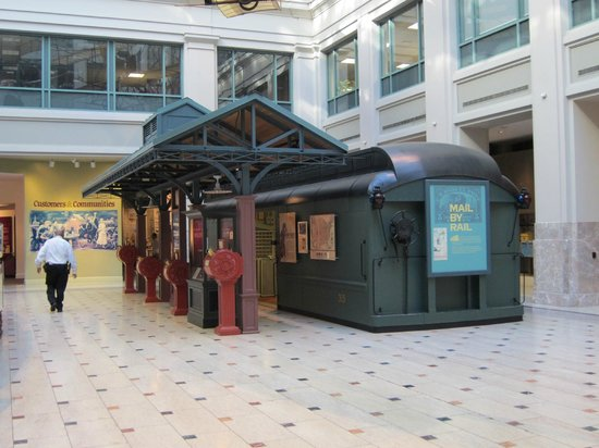 National Postal Museum: Postal railroad