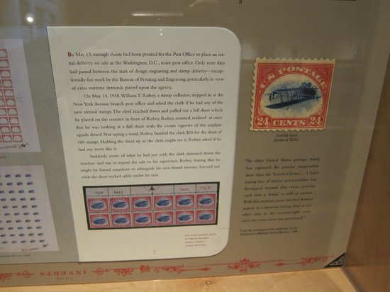 National Postal Museum: Rare stamp