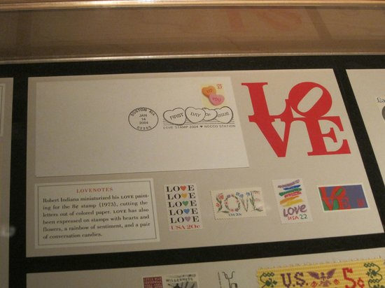 National Postal Museum : Love Stamps
