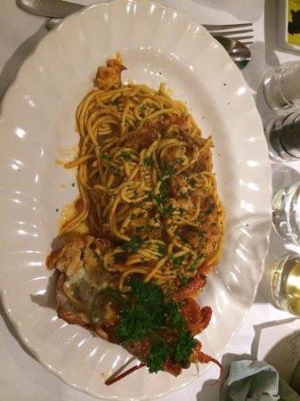 Ristorante Il Piccolo Mondo : Lobster Spaghetti