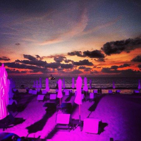 Sunset at Catch beach club