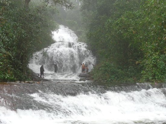 Thekkady - Woods n Spice, A Sterling Holidays Resort: Gavi Forest water falls