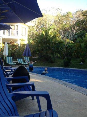 The Hideaway Hotel Playa Samara : pool area