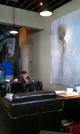 Bold Bean Coffee Roasters: Part of the art