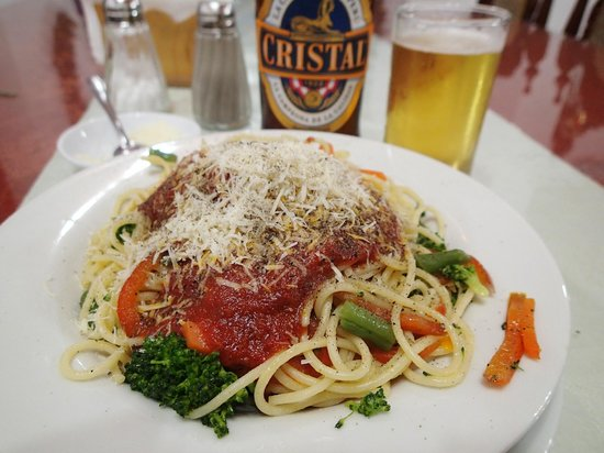Hotel Alegria: dinner