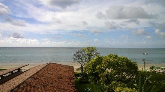 Pousada Baia dos Corais: Vista do apartamento no segundo andar