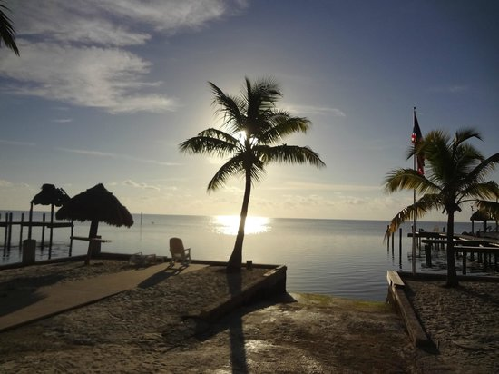 Sands of Islamorada Hotel: Nascer do sol.