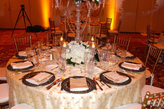 Eau Palm Beach Resort & Spa: Our Table Setting