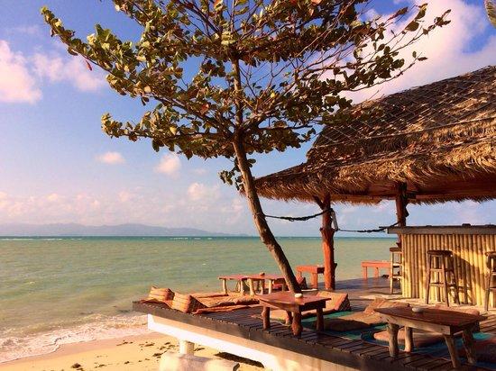 Coco Garden Resort: Strandbar