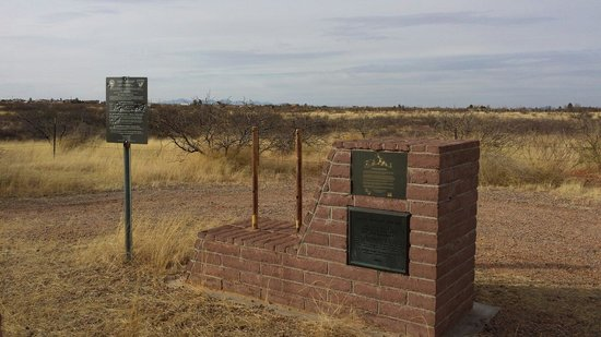Sierra Vista, AZ: Site Monument