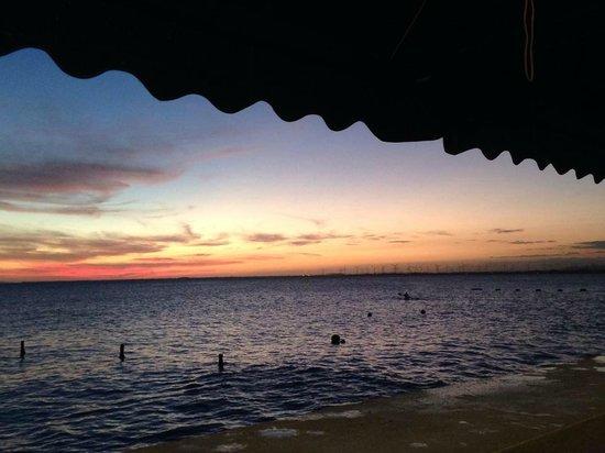 rest. puerta al sol : Spectacular sunset