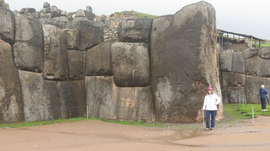 Sacsayhuamán: The stones that were perfectly fitted to make these walls