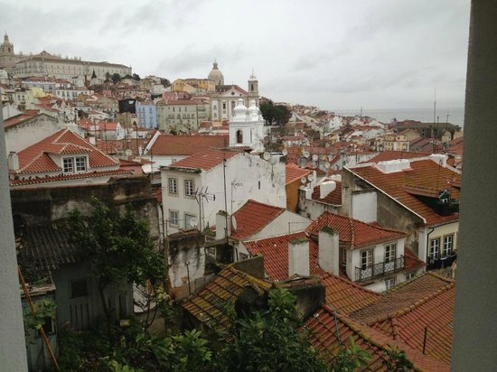 Memmo Alfama Hotel: View from hotel room