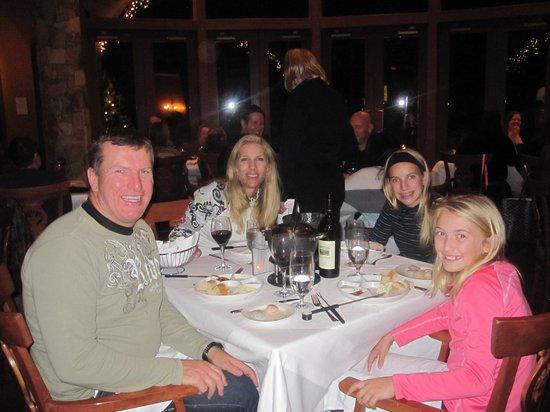 Fairmont Chateau Whistler Resort: Great fondu dinner at the Fairmont