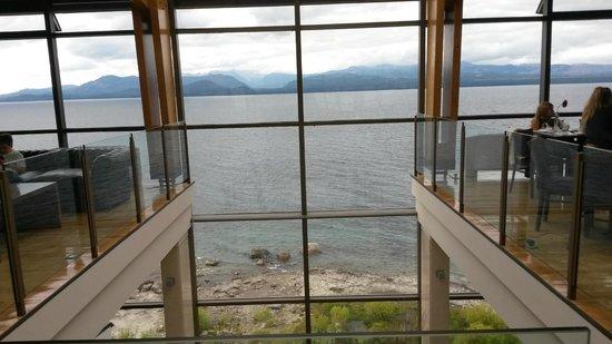 Alma del Lago Suites & Spa : Vista desde el bar