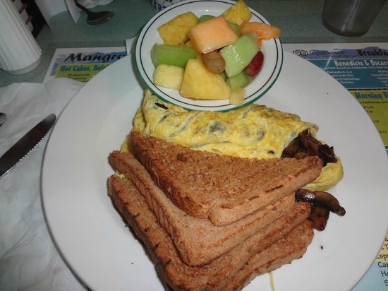 Mangrove Mike's Cafe: delicious!
