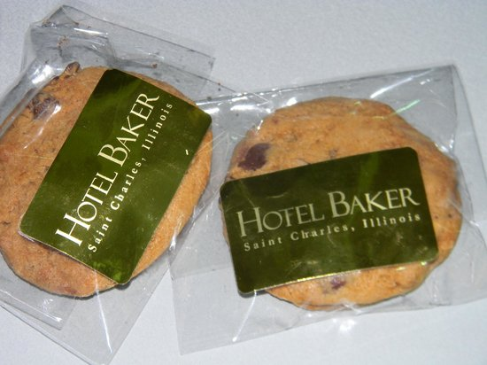 Hotel Baker: complimentary cookies
