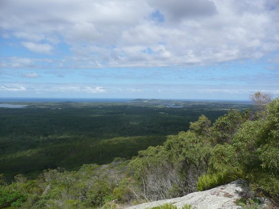 Tewantin National Park: View from the lookout