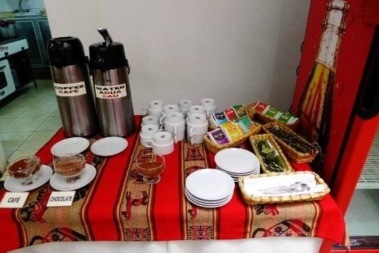 Intiqa Hotel: Hot drink station