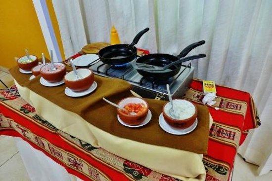 Intiqa Hotel: Egg station