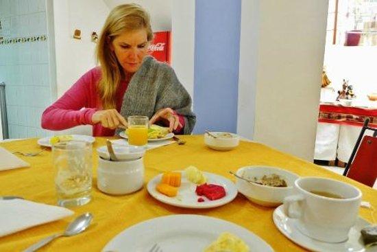 Intiqa Hotel: The breakfast table