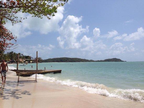Chalala Samui Resort: La plage de l'hotel