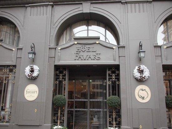 La Maison Favart : 入り口