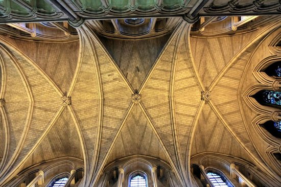 Southwark Cathedral - Gothic ceiling