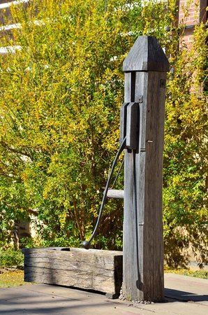Old Salem Museums & Gardens: Water Pump