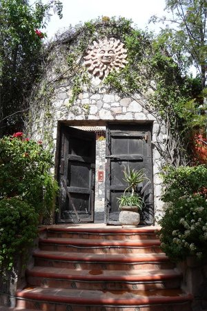 Casa Puesta Del Sol: front door from the inside