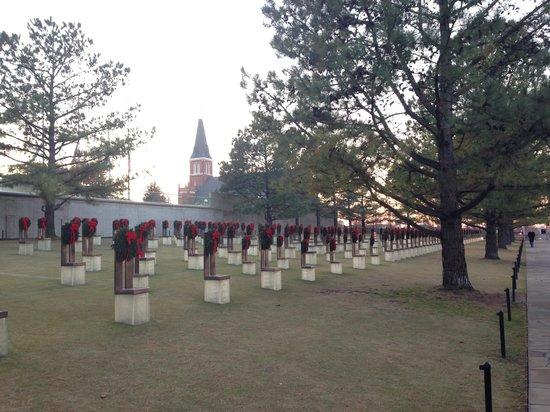 Oklahoma City National Memorial & Museum: Foto do local