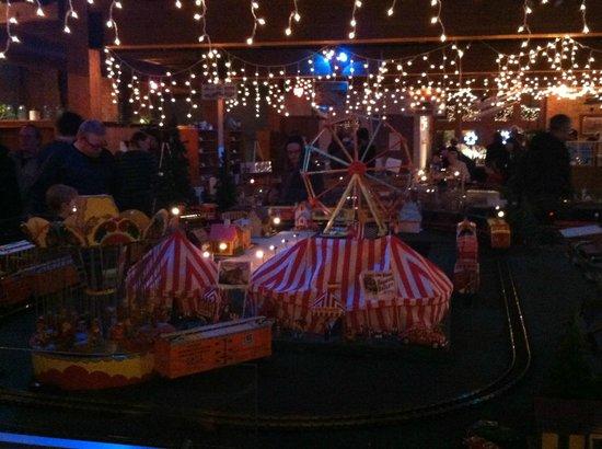 Twin City Model Railroad Museum: Carnival display #2